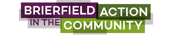 Brierfield Action In The Community Logo